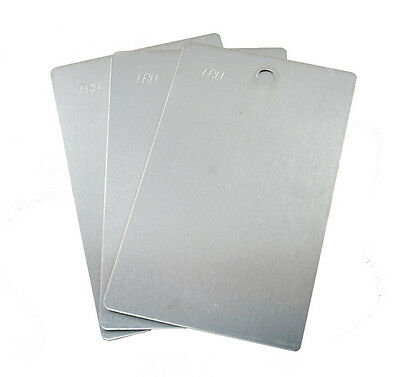 Blank Aluminum Panels For Paint And Powder Coat - 3 X 5 Inch