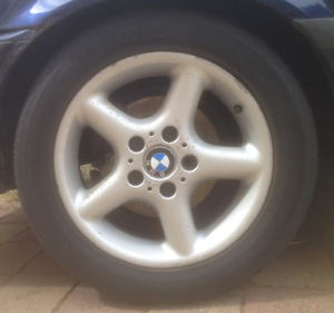 BMW 7 x 16in Style 18 Alloy Wheels x5 Kaleen Belconnen Area Preview
