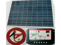 BNIB Solar panel kit caravan boat motorhome 100w