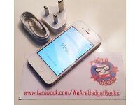 iPhone 4S, White, 8GB, Grade B+, Unlocked