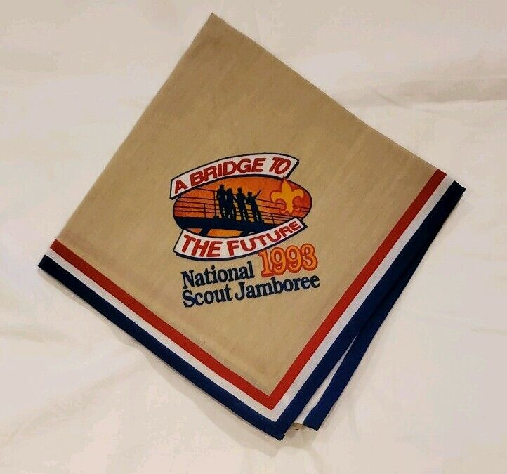 1993 National Boy Scout Jamboree Official Neckerchief BSA Boy Scouts NEW