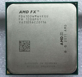 FX 4100 quad core AM3+ processor