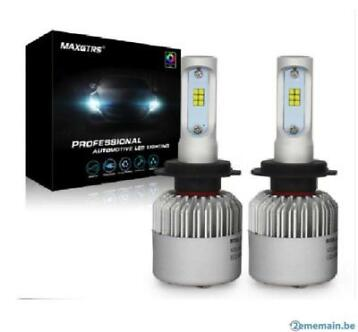 H7 Ampoule FULL led phare 80 w 6000 k 8000lm