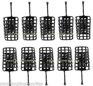 10-Square-Metal-Fishing-Cage-Swim-feeders-Swimfeeders