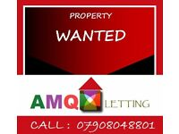 house, flat, studio flat, rooms wanted urgent , professional tenant waiting to move in asap