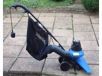 Powerful Garden Vacuum Cleaner - deals with leaves, grass cuttings etc