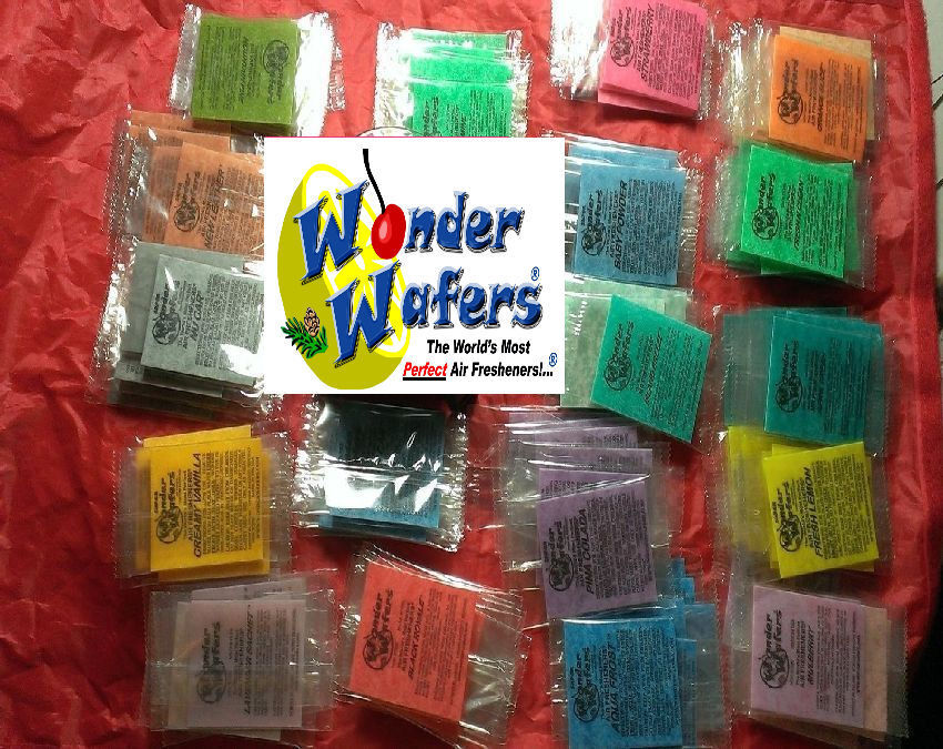 24 ~Wonder Wafers Car Freshener multi Variety Pack ~ ALL Sce