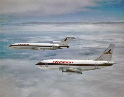 "Piedmont Airlines Boeing 737-200 ((8.5""x11"")) Print"