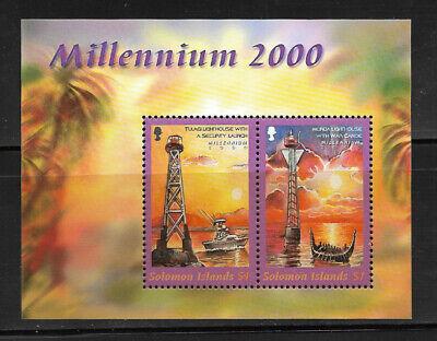 E177] SOLOMON ISLANDS SGMS963 2000 New Millennium Miniature Sheet unmounted mint