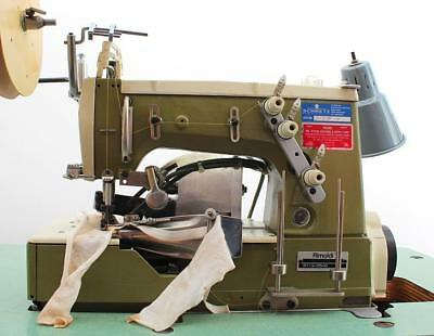 Rimoldi 261 Chainstitch Single Needle Elastic Binder Industrial Sewing Machine