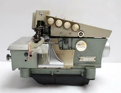 Rimoldi 329 2-needle 5-thrd Overlock Serger Industrial Sewing Machine Head Only