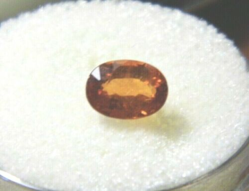 Spessartite Garnet 7x5x3mm 1.11cts. Minimum Natural Gemstone  Beautiful!!
