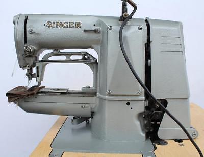 Singer 269w26 Bar Tacker Adjustable 58 Industrial Sewing Machine 220v 3ph