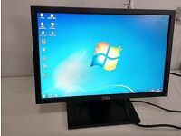"""£18 Dell 16:9 wide screen 17"""" inch Flat monitor - excellent condition and fully working"""
