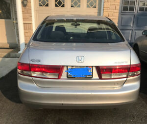 Honda Accord 2004 silver for  $1990