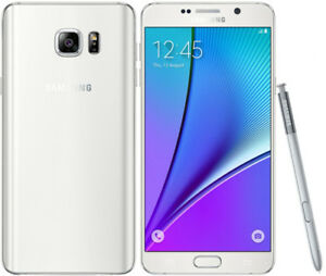 Samsung Galaxy Note 5 Unlocked phone,White&Blue Only $ 430