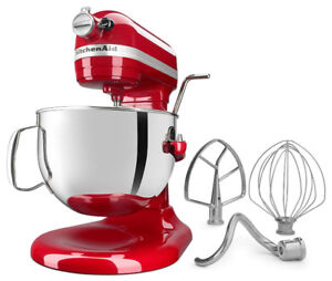 KitchenAid 6-Qt. Bowl-Lift Stand Mixer  -Empire Red