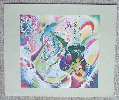 Kandinsky Kunst Poster (IMPROVISATION 35 von Wassily Kandinsky - Kunstdruck - Poster)