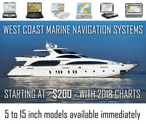 West Coast + BC MARINE NAVIGATION chartplotter systems
