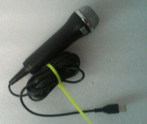 Logitech Rock Band Wired USB Microphone Wii, PS2, PS3, Xbox 360