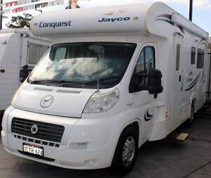 2007 FIAT JAYCO CONQUEST 3.0L TURBO DIESEL MOTORHOME Cannington Canning Area Preview