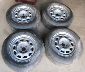 """Ford Mustang Thunderbird 10 Hole 15"""" Wheels & BFG Comp T/A Tires"""
