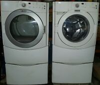 Maytag Front Loading Washer & Propane Dryer