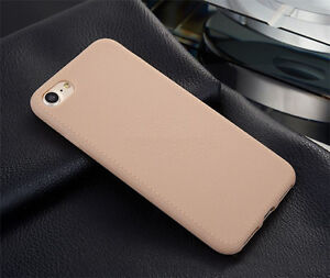 Leather look Case for iphone 7 plus - étui apparence cuir