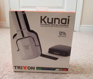 Tritton (Wireless) kunai headphones