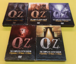 OZ Complete Season Sets On DVD