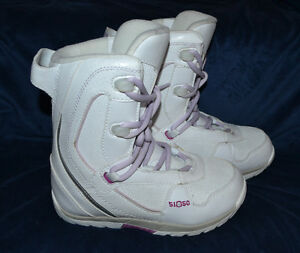 Fifty One Fifty 5150 Junior Snowboard Boots Girls Size 4 Mond 22