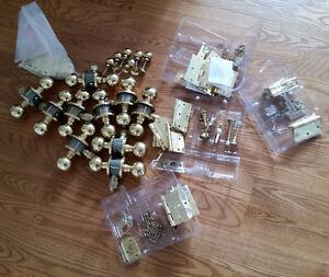 Brass door hardware