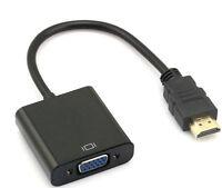Hdmi Macho A Vga Hembra Cable Vídeo Convertidor Para Portátil Pc Hdtv Dvd Ps3 -  - ebay.es