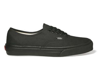 VANS - Authentic - Schwarz Mono - Schuhe Skate - NEU - EE3BKA - Gr.: 37 - 48 (Vans Authentic Skate Schuhe Schwarz)