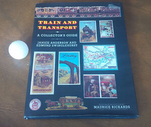 Book: Train and Transport, A Collector's Guide, 1981 Kitchener / Waterloo Kitchener Area image 1