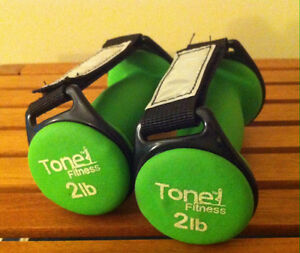 Ankle and wrist weight (dumbbell) for home and gym