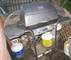 Good working Thermos Aluminium BBQ, burner is recently changed