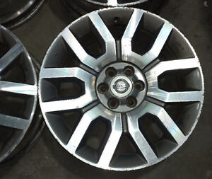 "Set of 18"" OEM alloy rims for Nissan Frontier -- 6x114"