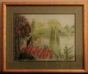 Artists Pastel Impression at Giverny France