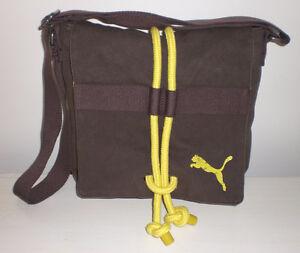 Sac Puma brun et jaune