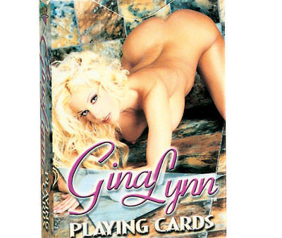 VIDEO TEAMS HOT GINGER LYNN DELUXE PRINT PLAYING CARDS A MUST HAVE FOR