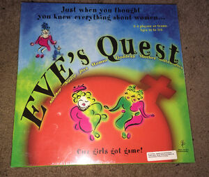 """Eve's Quest Boardgame """"Cuz Girls Got Game"""" NEW/SEALED!!"""