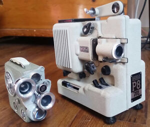 Eumig 8mm Camera and Projector