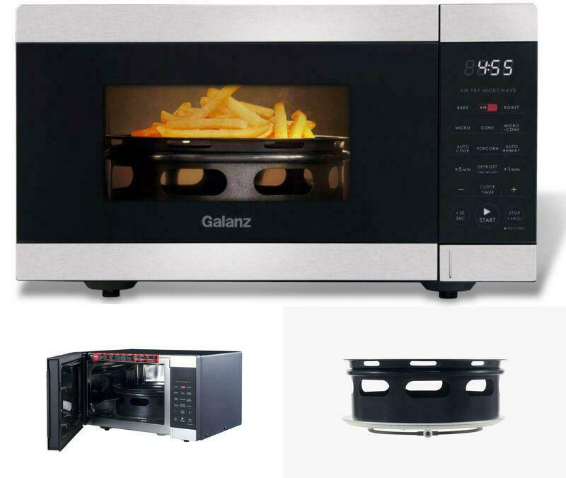 AIR FRY MICROWAVE OVEN Fryer Convection Kitchen Countertop B