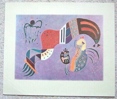 Kandinsky Kunst Poster (GEMÄSSIGTER AUFSCHWUNG von Wassily Kandinsky - Kunstdruck - Poster)