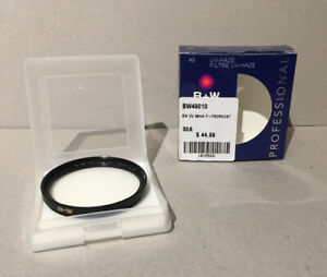B&W Professional UV filter 49mm 25.00,  Hoya 62mm skylight