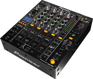 Pioneer DJ DJM-850-K   (4-channel digital mixer (black)