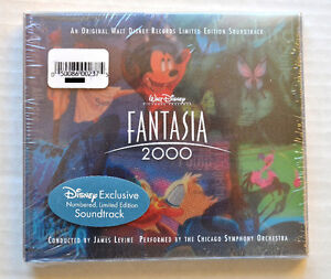 Original Walt Disney Exclusive Numbered LE Records Fantasia 2000