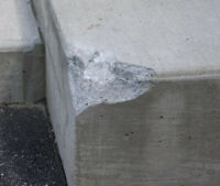 ISO - concrete repair person with references