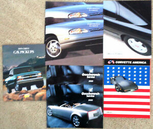 Dealer Brochures GM Z34 Cavalier Lumina Z28 Camaro Corvette Z24